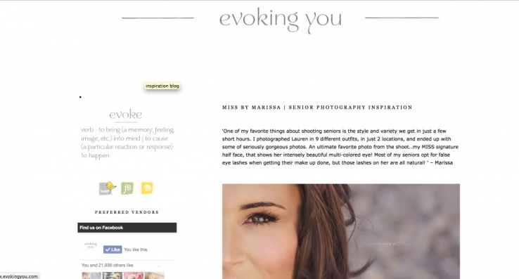 EVOKING YOU FEATURE | MICHIGAN SENIOR PHOTOGRAPHER