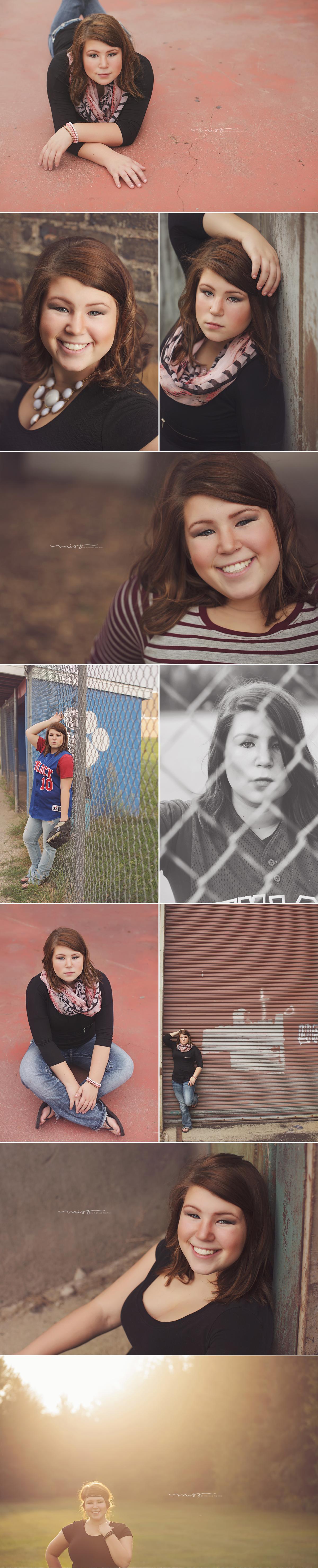 Michigan Senior Photographer | Amy Hemlock High School 1