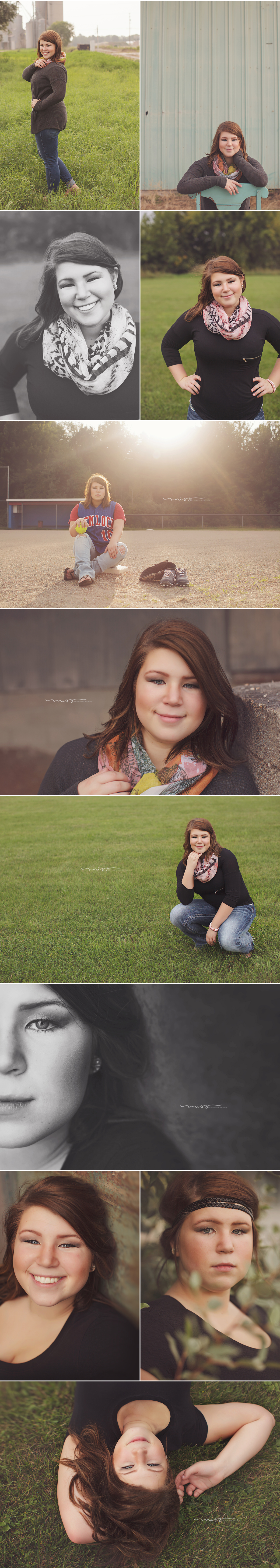 Michigan Senior Photographer | Amy Hemlock High School 2