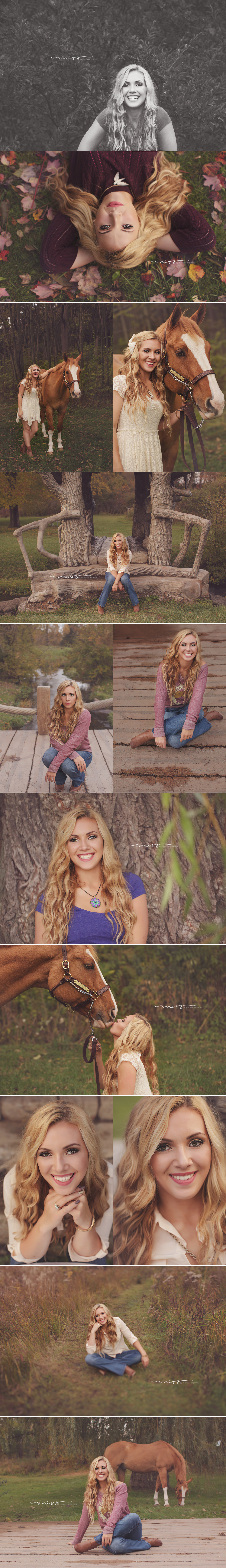 Manchester Michigan Senior Photographer | Savanna 1