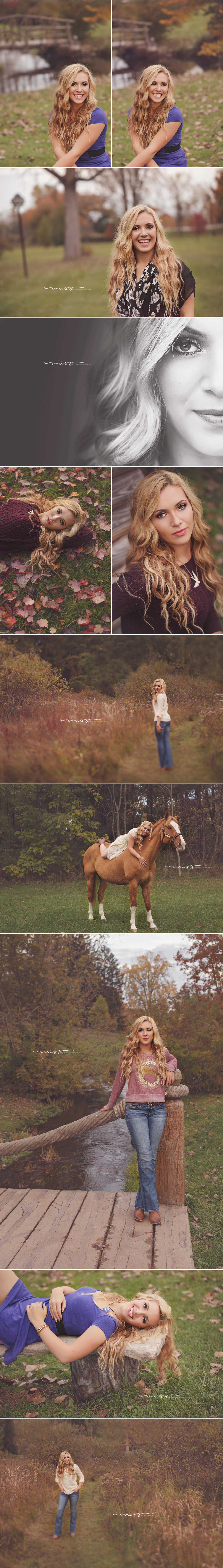 Manchester Michigan Senior Photographer | Savanna 2